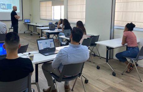 המרכז לצעירים של עיריית קריית מלאכי מציג סדנת לינקדאין חדשה