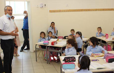 """224 תלמידים חדשים פותחים את שנת הלימודים תשפ""""ב בקריית מלאכי"""