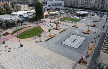 הסתיים שלב א' של בניית המרכז המסחרי בקריית מלאכי